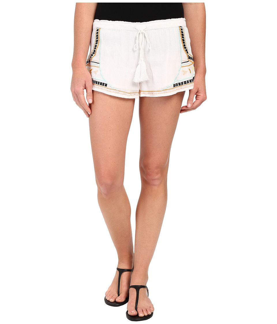 Rip Curl - Tribal Myth Luxe Shorts (White) Women's Shorts