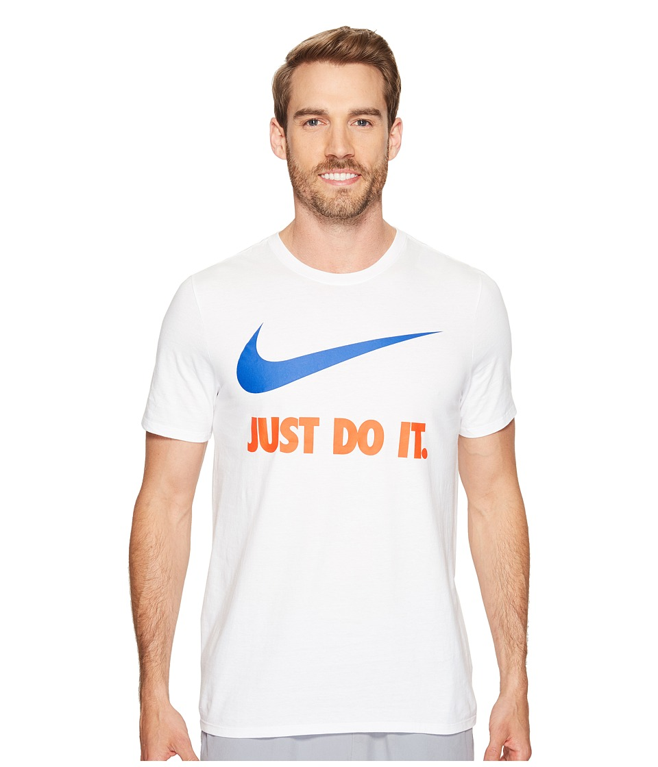 Nike Just Do Ittm Swooshtm Tee (White) Men