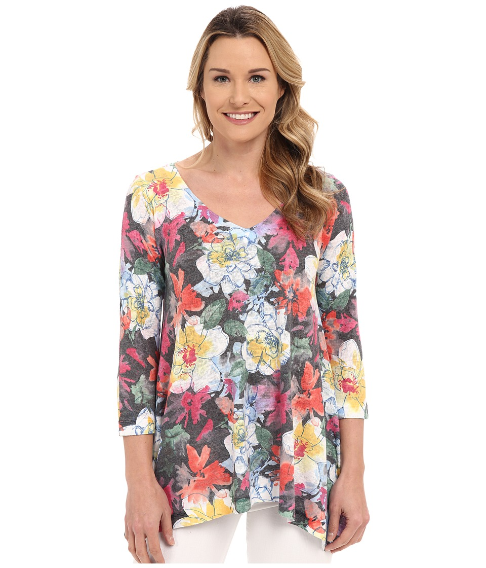 Nally & Millie - Floral Tunic (Multi) Women's Blouse