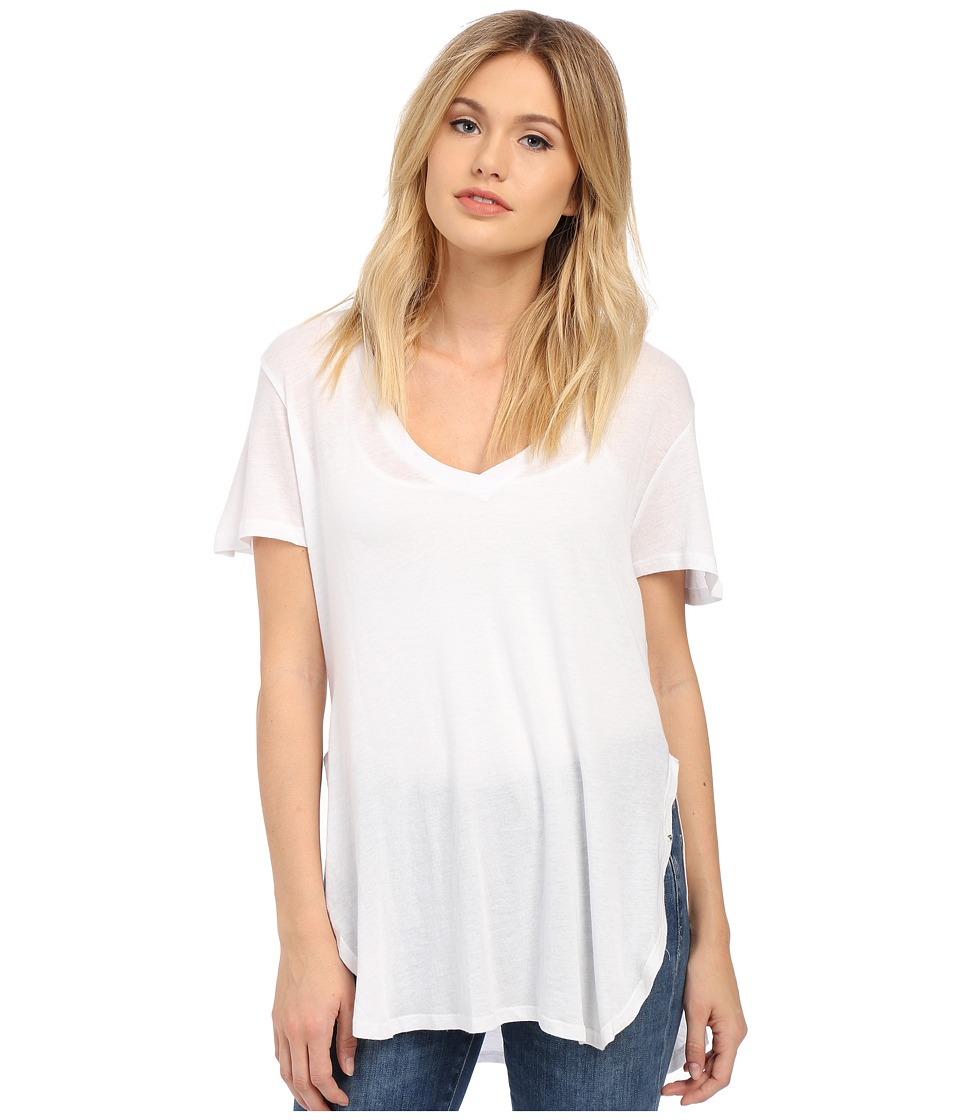 Volcom - Deep Dish Tee (White) Women's T Shirt