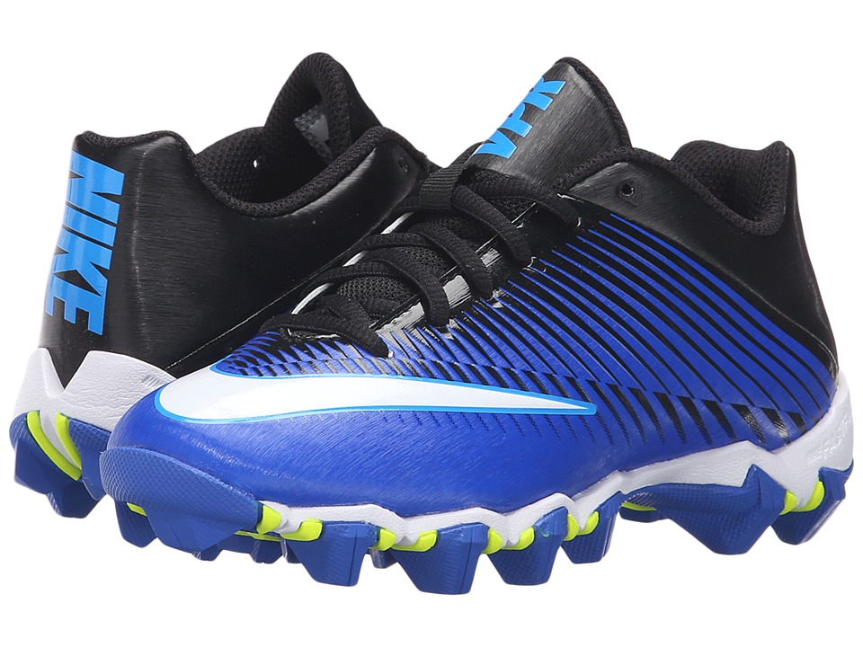 Nike Kids - Vapor Shark 2 Football (Toddler/Little Kid/Big Kid) (Racer Blue/Black/Omega Blue/White) Boys Shoes