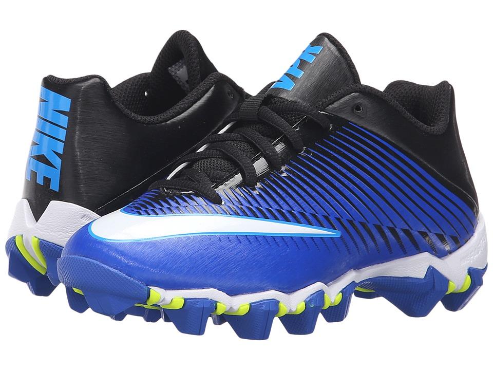 Nike Kids - Vapor Shark 2 Football (Toddler/Little Kid/Big Kid) (Racer Blue/Black/Omega Blue/White) Boys Shoes