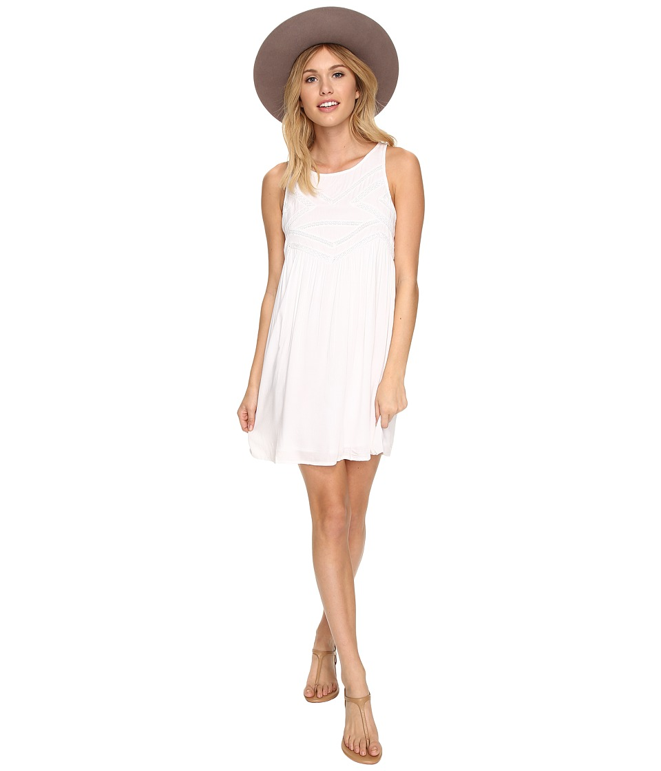 Volcom - Snapdragon Tank Dress (White) Women's Dress