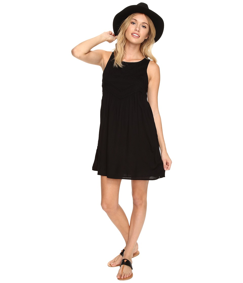 Volcom - Snapdragon Tank Dress (Black) Women's Dress