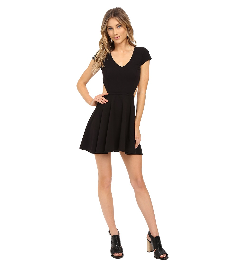 Volcom - Time To Dance Dress (Black) Women's Dress