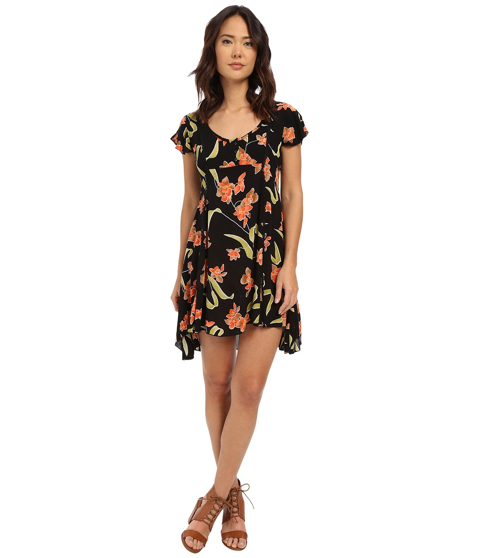 Volcom - Crush Starter Dress (Black) Women's Dress