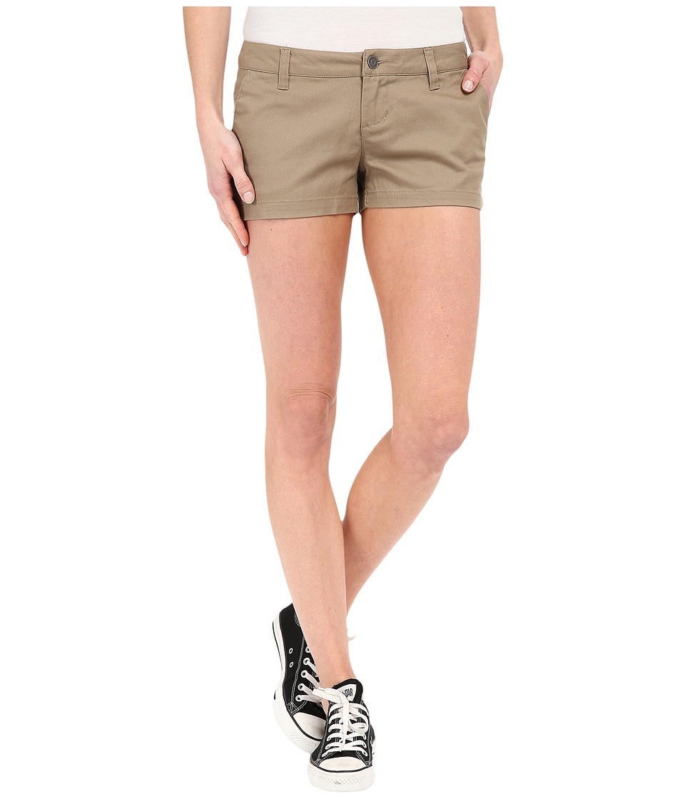 Volcom - Frochickie 2.5 Shorts (Khaki) Women's Shorts