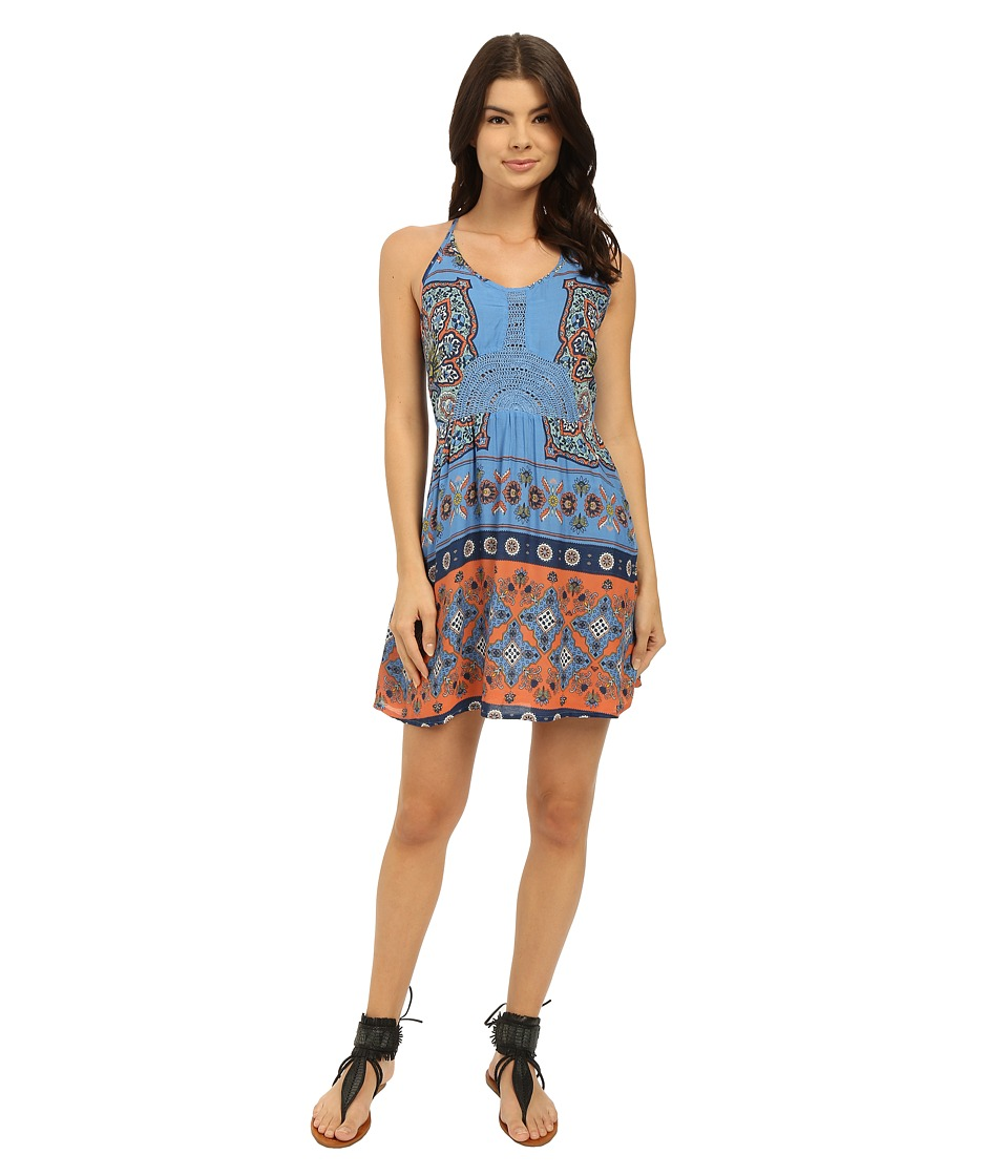 Roxy - Dance to the Beat Dress (Agadir Border/Morning Sky) Women's Dress