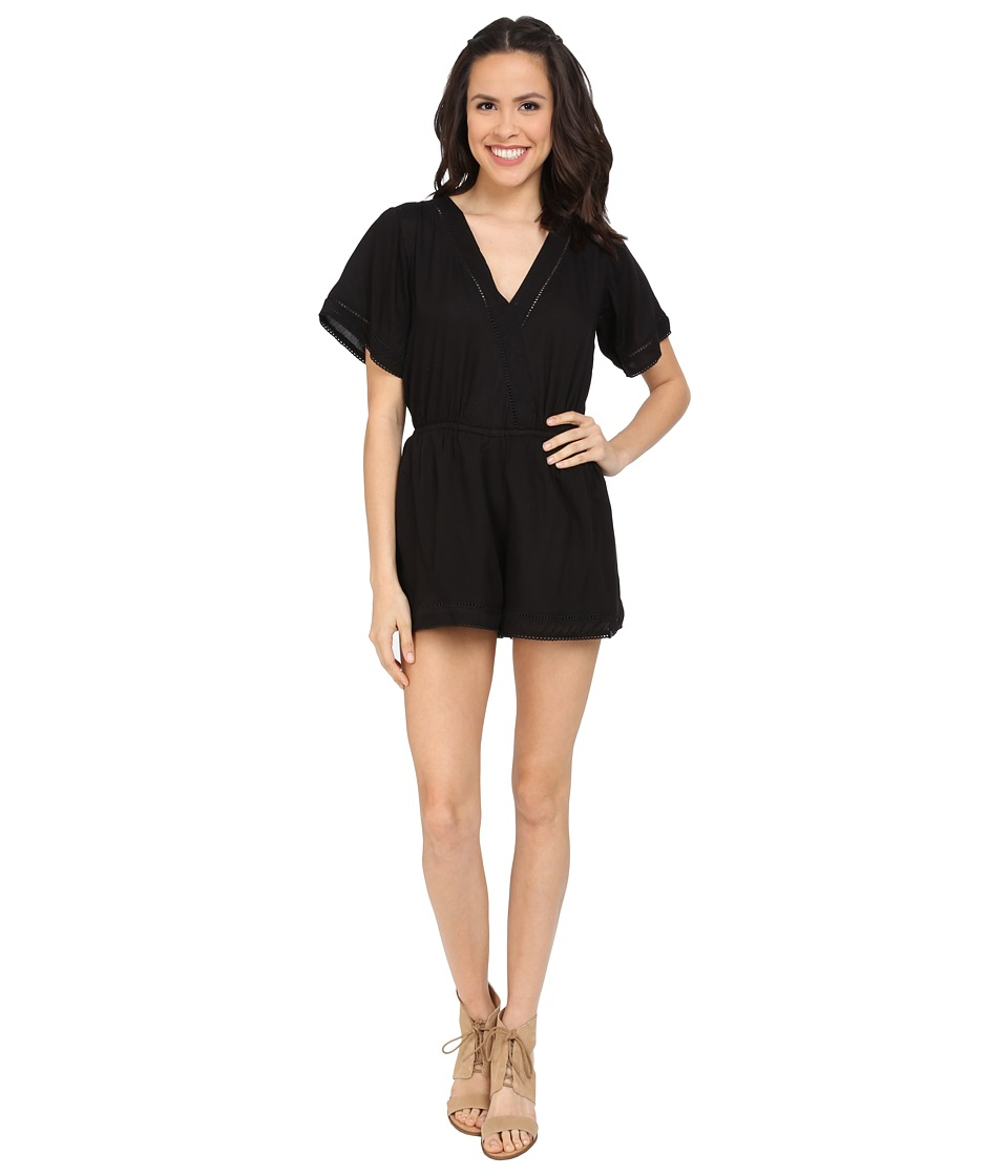 Volcom - Swamis Romper (Black) Women's Jumpsuit & Rompers One Piece