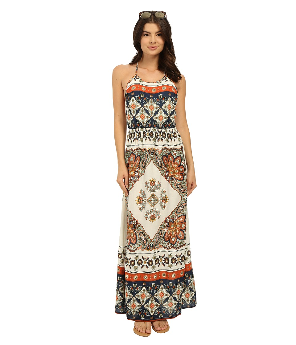 Roxy - Summer Fleet Dress (Agadir Border/Sand Piper) Women
