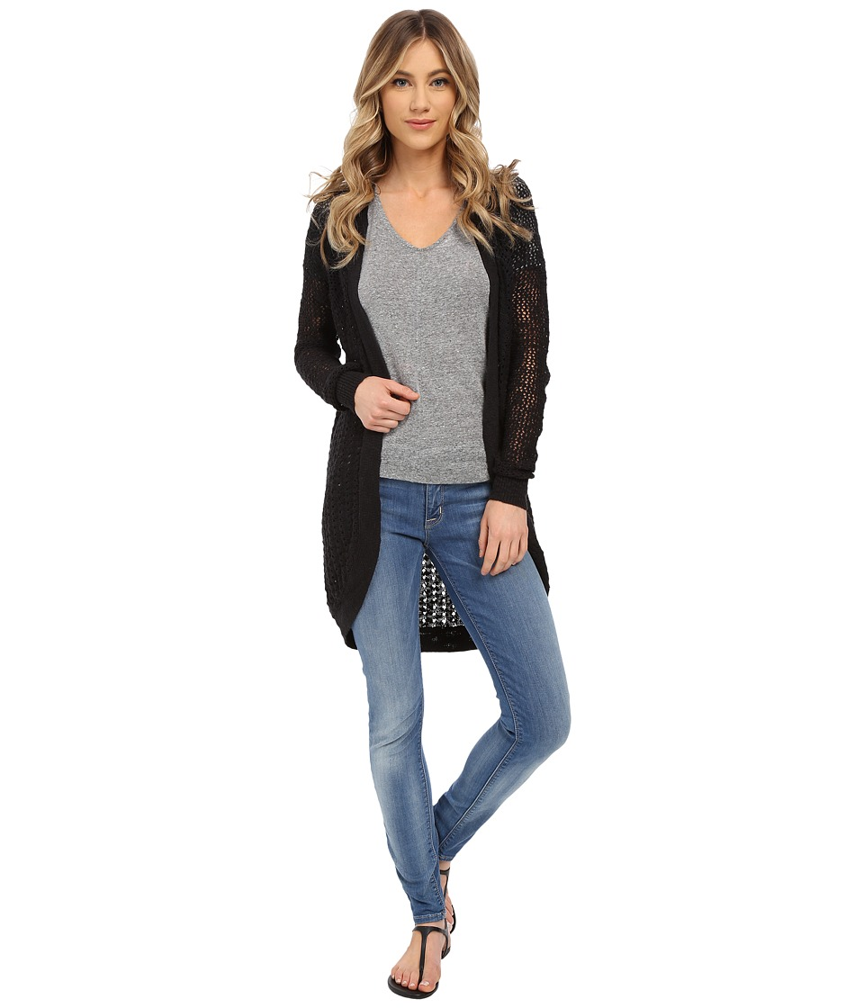 Roxy - Ocean of Love Cardigan (True Black) Women's Sweater