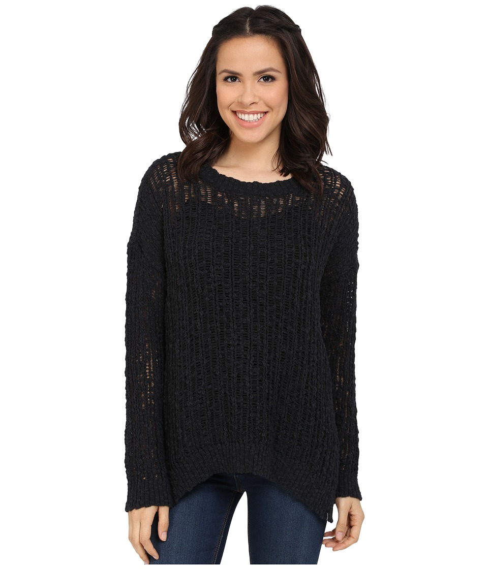 Volcom - Open Road Sweater (Black) Women's Sweater