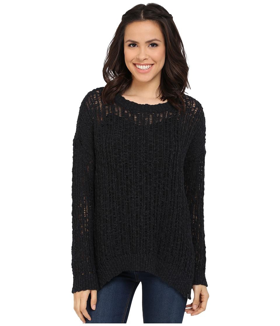 Volcom - Open Road Sweater (Black) Women's Sweater