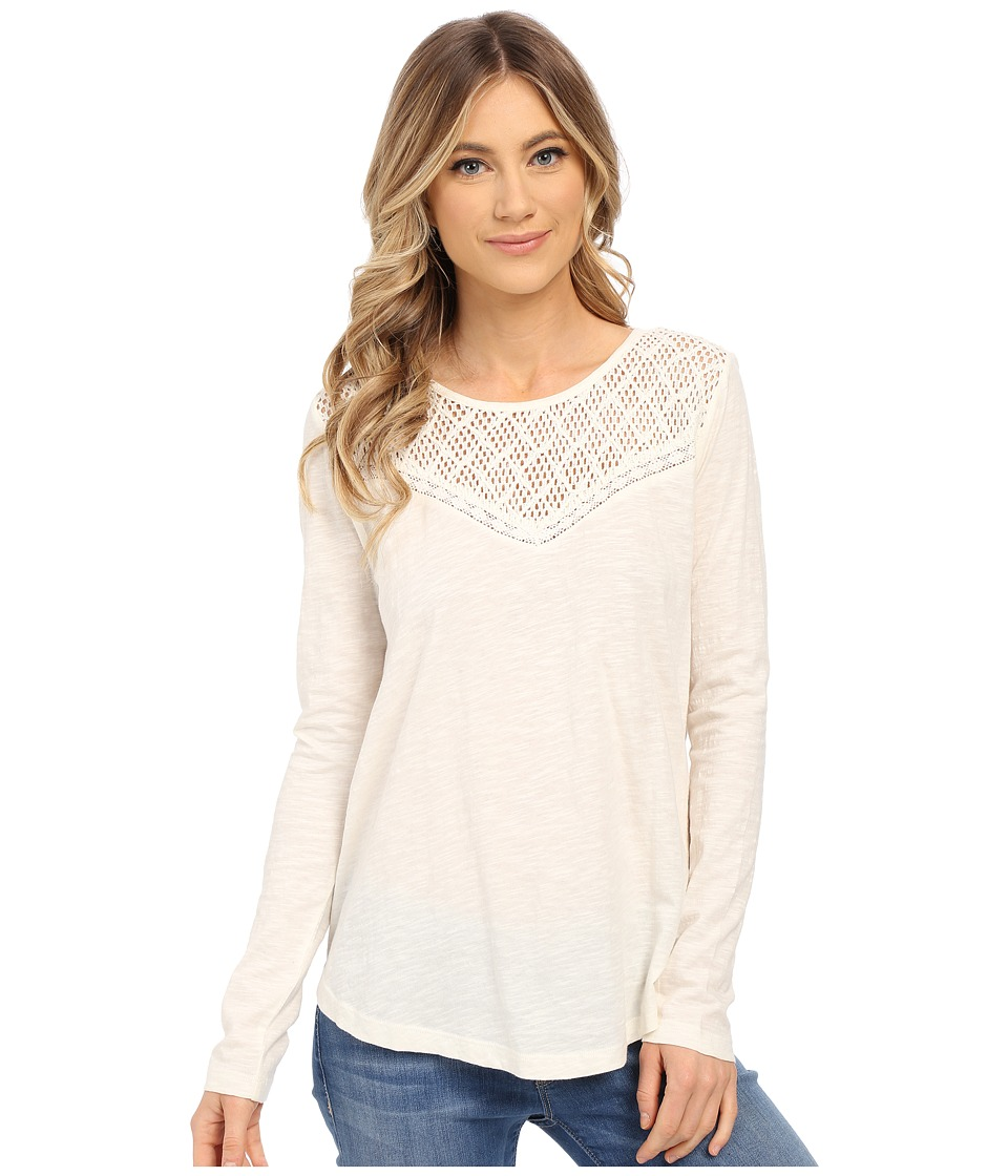 Roxy - Floridays Long Sleeve Tee (Sand Piper) Women