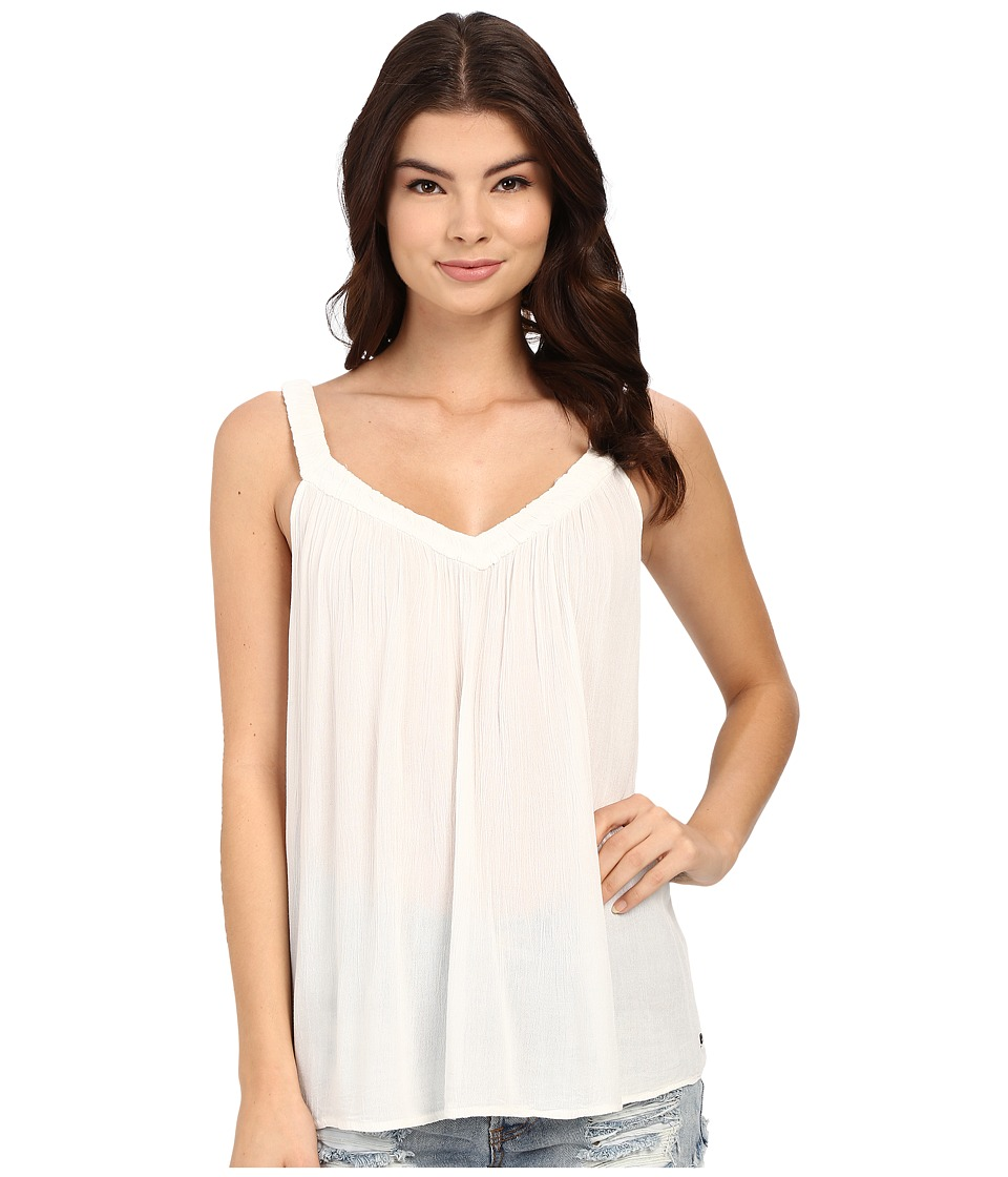 Roxy - Double Dutch Gauze Top (Sand Piper) Women's Sleeveless