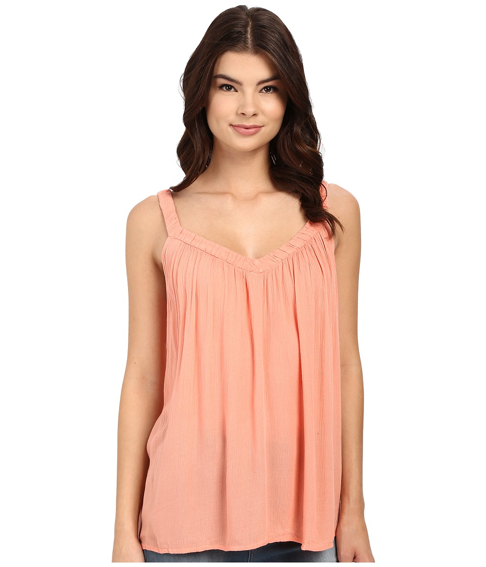 Roxy - Double Dutch Gauze Top (Desert Flower) Women's Sleeveless