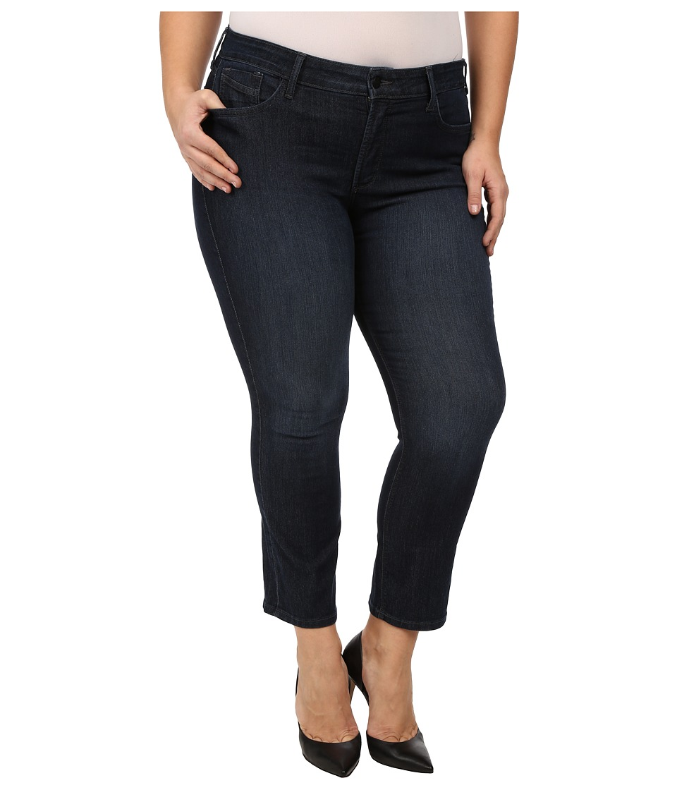 NYDJ Plus Size - Marilyn Straight in Burbank w/Petite Length (Burbank) Women's Jeans