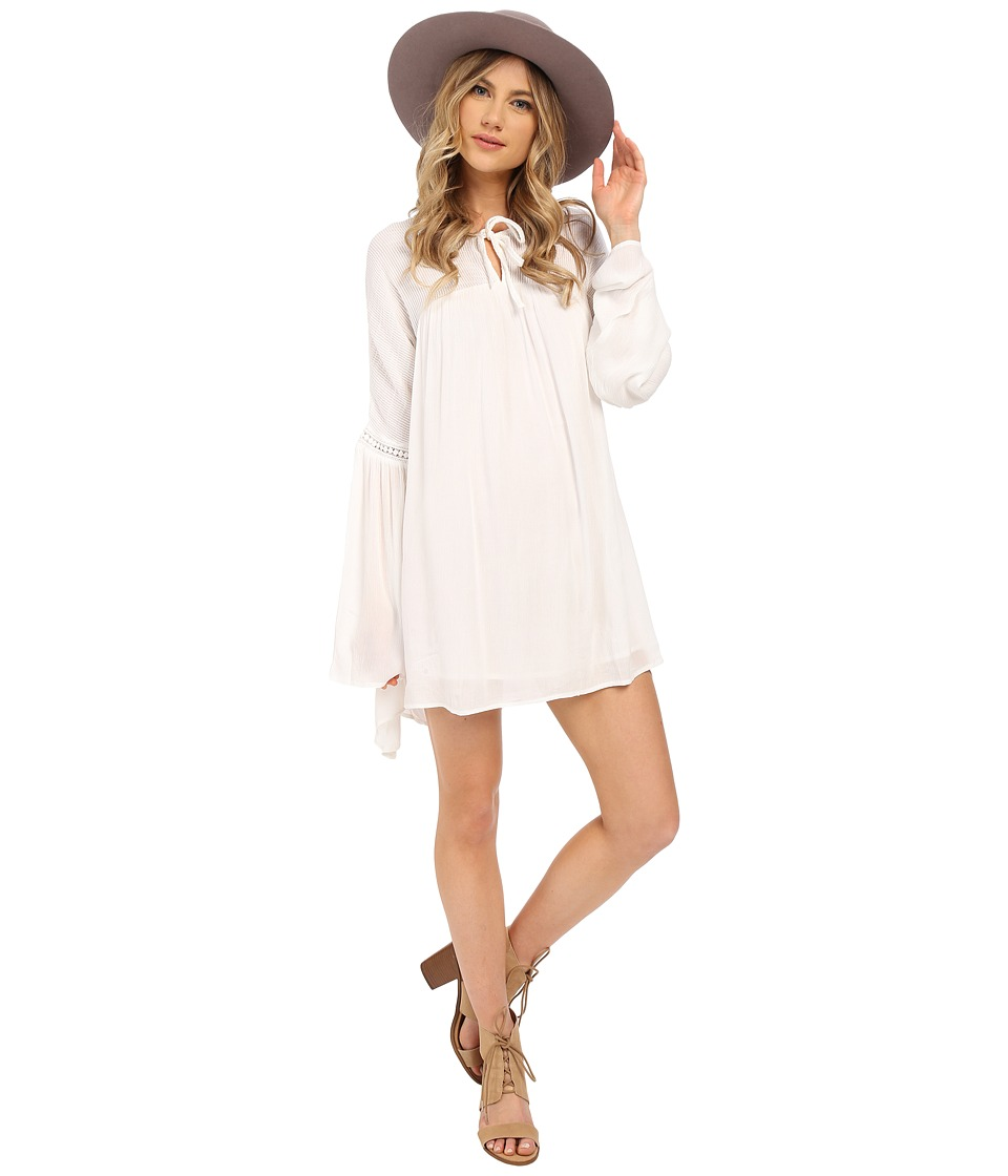 Volcom - Peaceazy Dress (White) Women's Dress