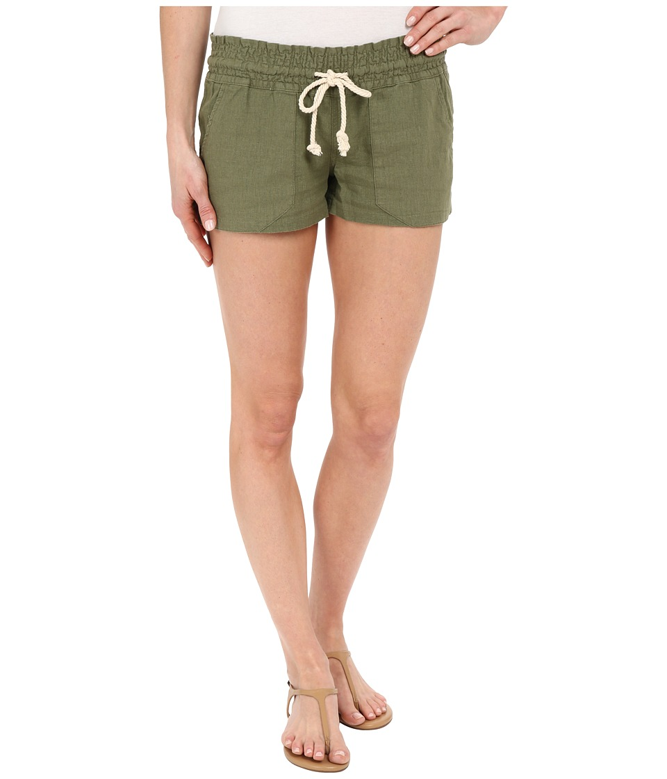 Roxy - Oceanside Shorts (Olivine) Women