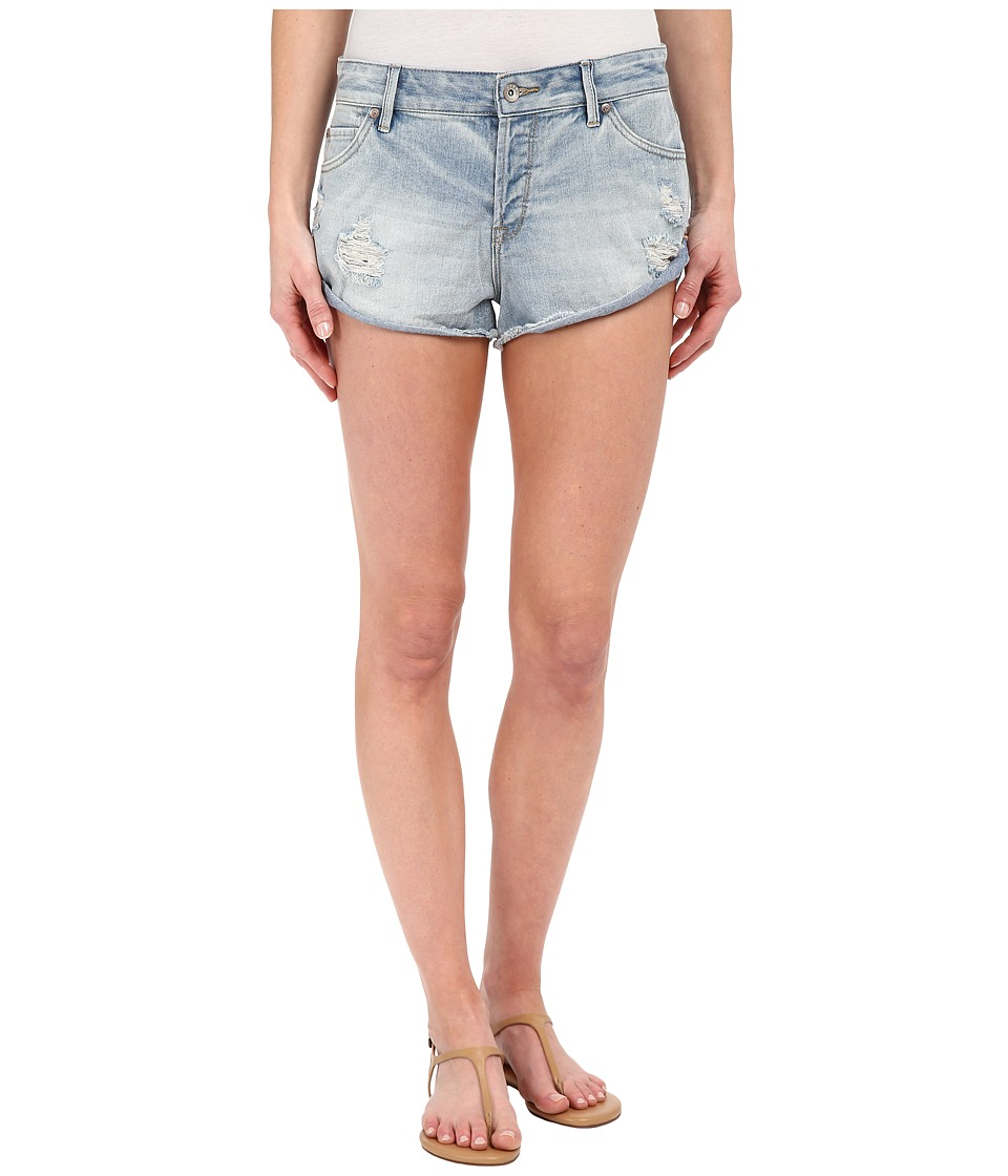 Roxy - Peaceful Shorts (Light Blue) Women's Shorts