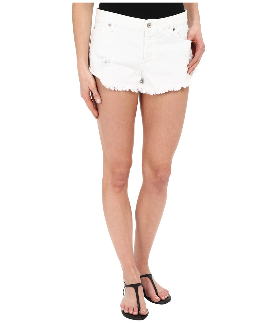 Roxy - Peaceful White Shorts (White) Women's Shorts