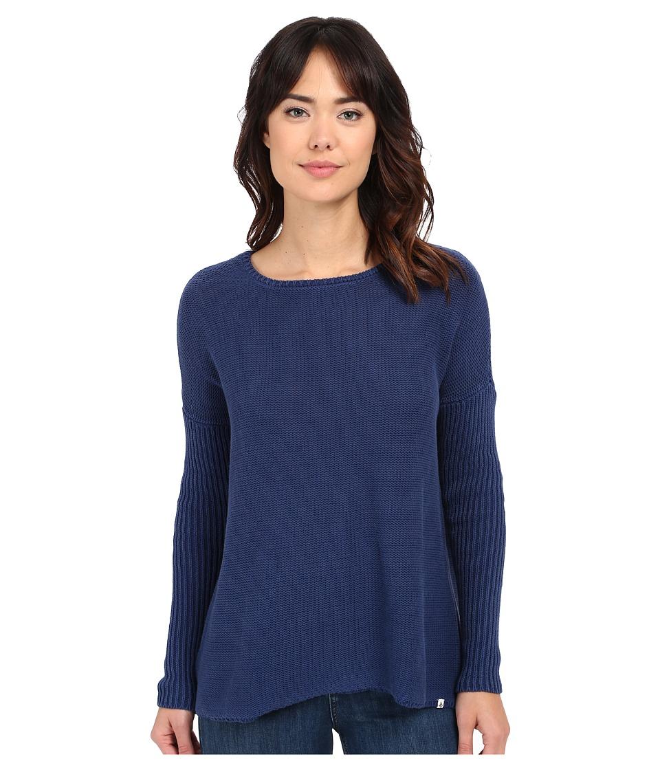 Volcom - Take It On Sweater (Navy) Women's Sweater