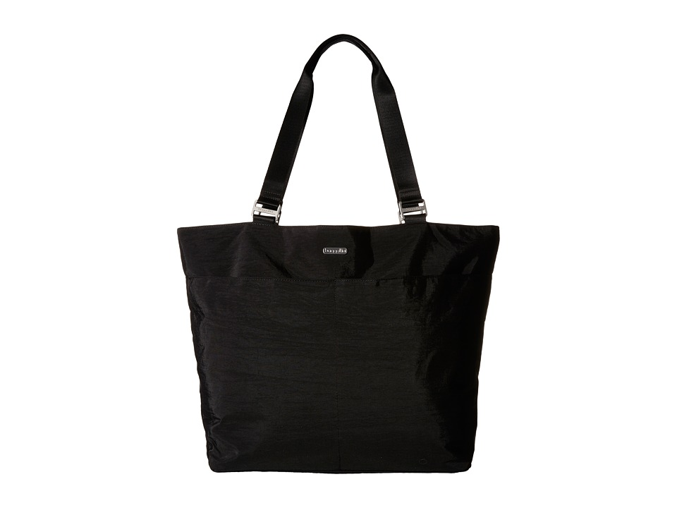 Baggallini - Carryall Tote (Black With Sand Lining) Tote Handbags