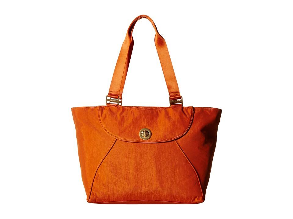 Baggallini - Gold Alberta Tote (Papaya) Tote Handbags
