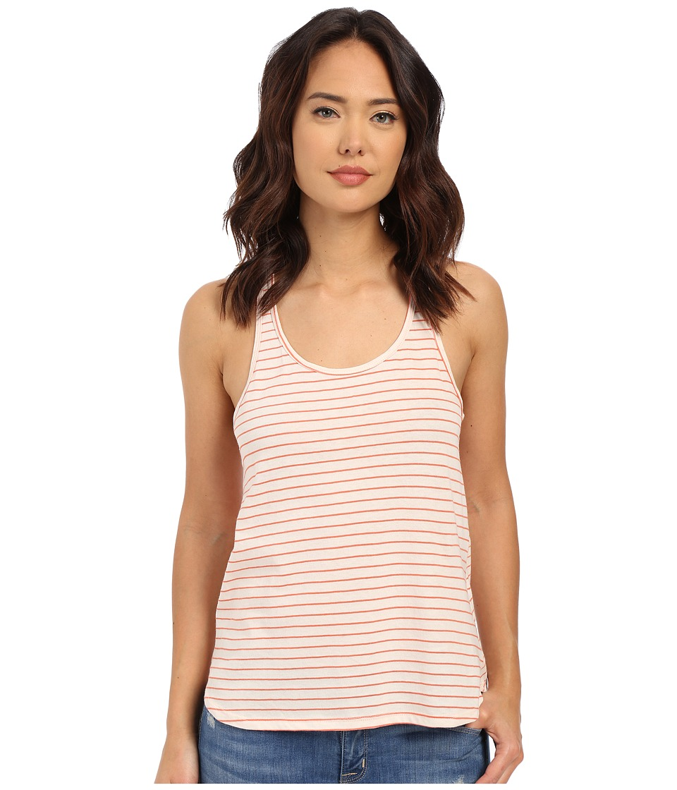 Volcom - Lived in Stripe Tank Top (Burnt Sienna) Women's Sleeveless
