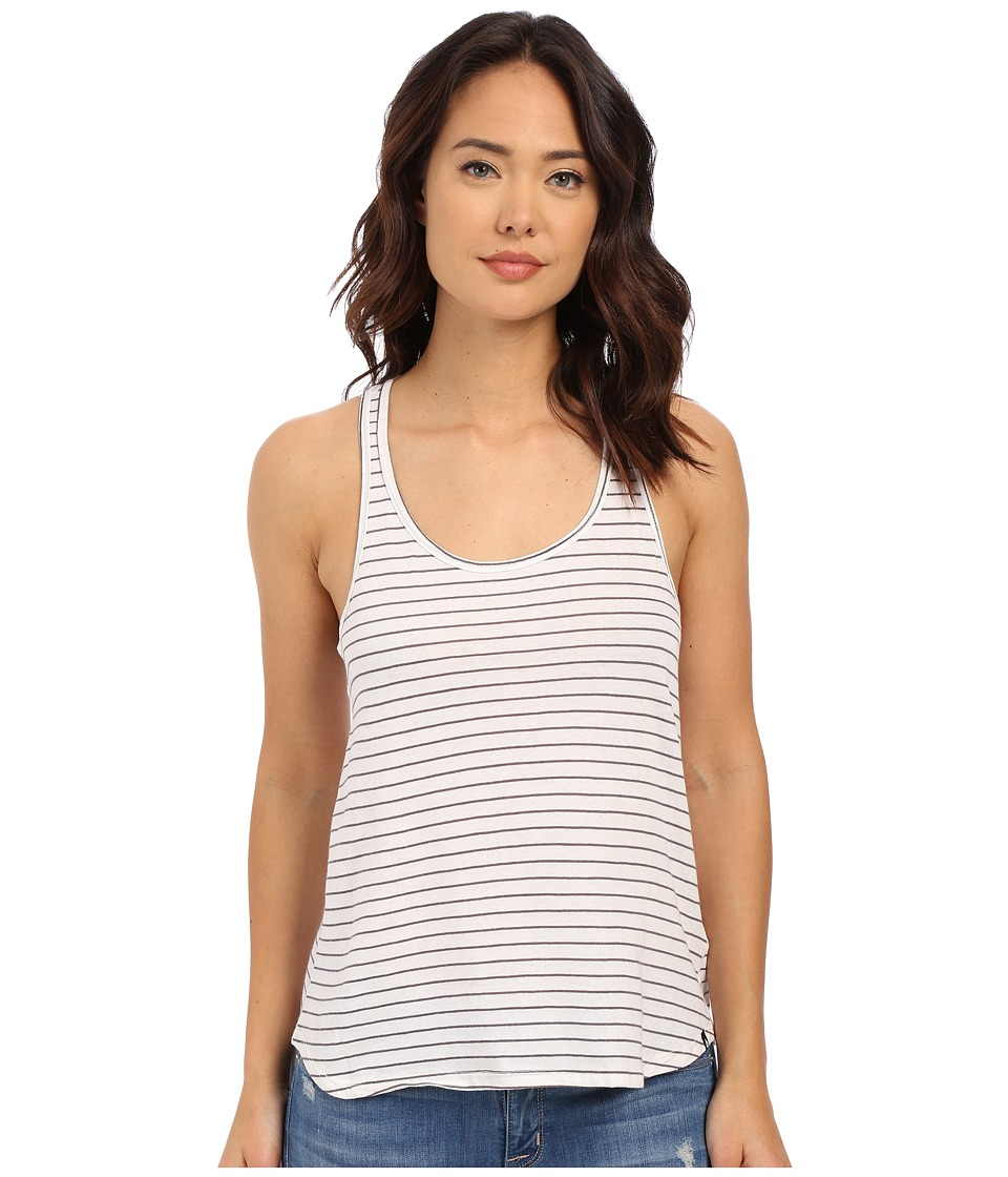 Volcom - Lived in Stripe Tank Top (Gunmetal Grey) Women's Sleeveless