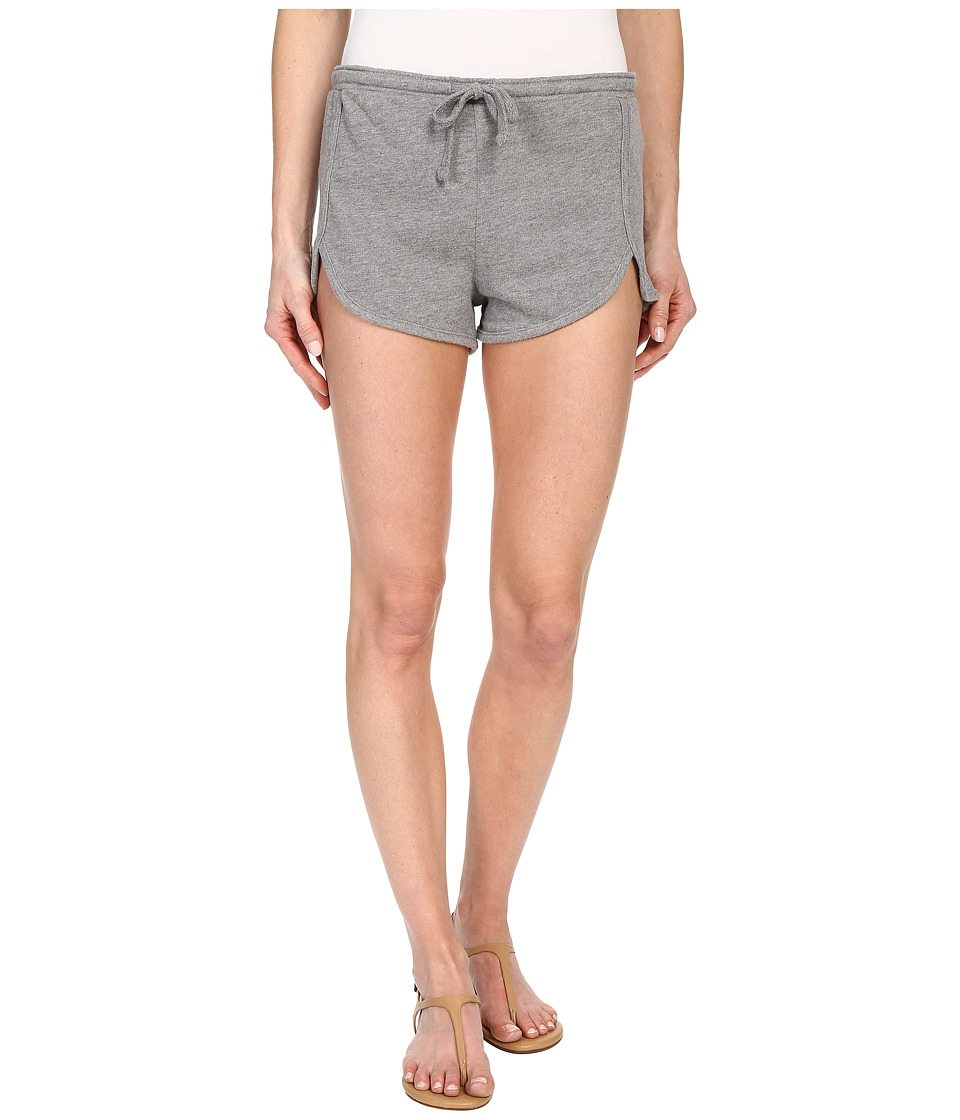 Volcom - Lived In Fleece Shorts (Heather Grey) Women's Shorts