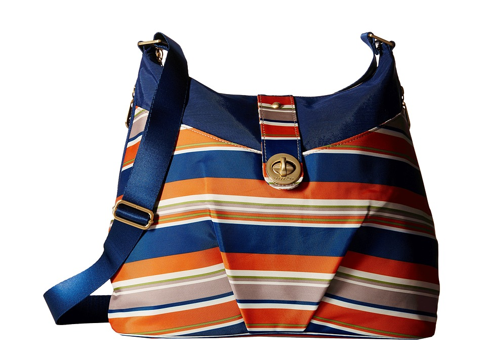 Baggallini - Gold Helsinki Bag (Pacific Stripe) Handbags