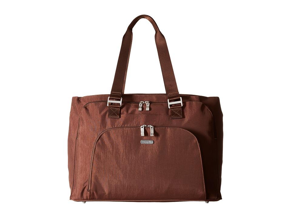 Baggallini - Errand Tote (Mocha) Tote Handbags