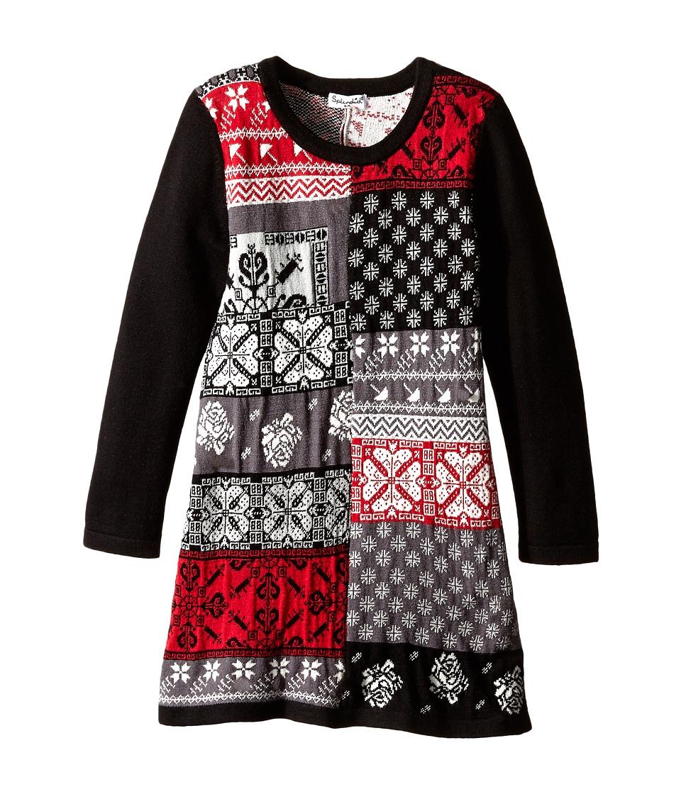 Splendid Littles - Jacquard Dress (Little Kids) (Multi) Girl
