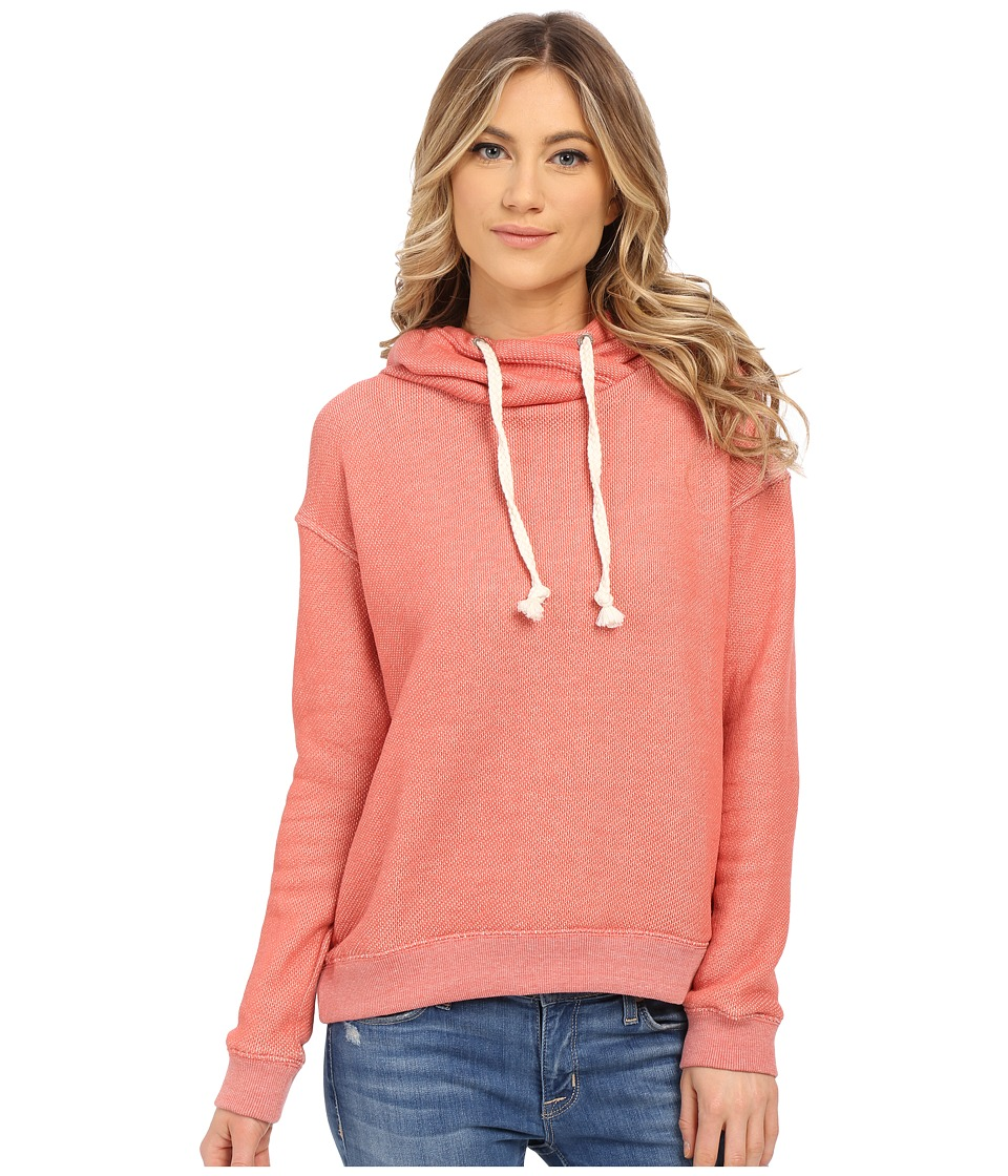 Roxy - Apollo Bay Hoodie (Faded Rose) Women's Sweatshirt