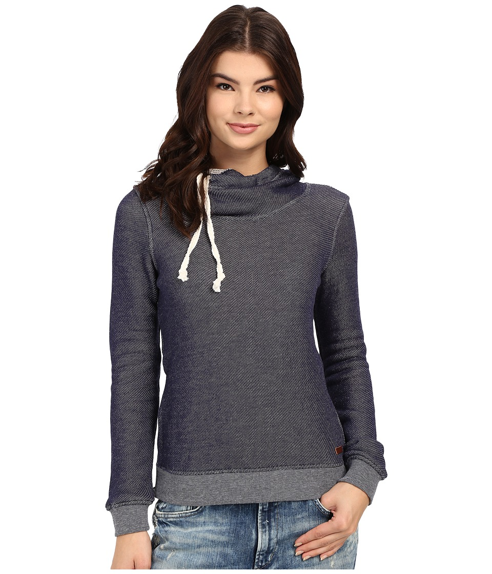 Roxy - Sharing Song Solid Hoodie (Eclipse) Women's Sweatshirt