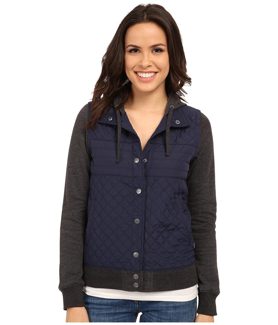 RVCA - Regulate Coat (Peacoat) Women's Coat