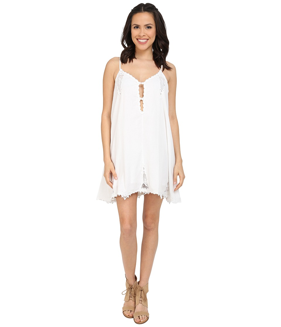 Volcom - Sparks Fly Dress (White) Women's Dress