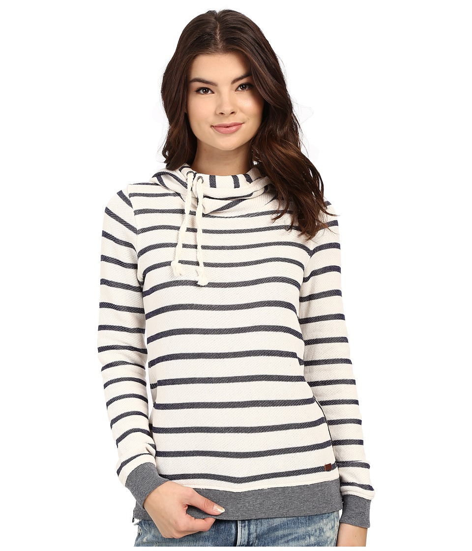 Roxy - Sharing Song Hoodie (Adelaide Stripe/Sand Piper) Women's Sweatshirt