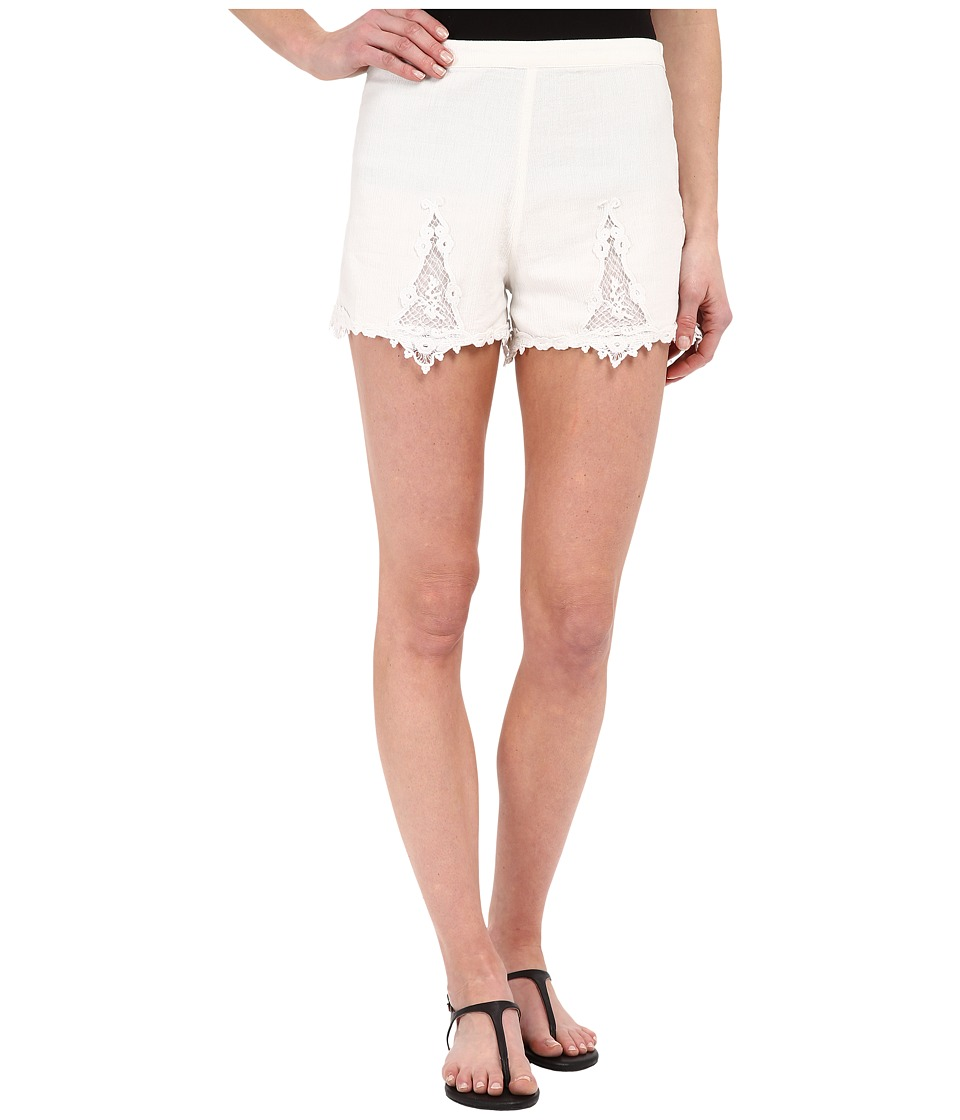 Volcom - Sparks Fly Shorts (White) Women's Shorts