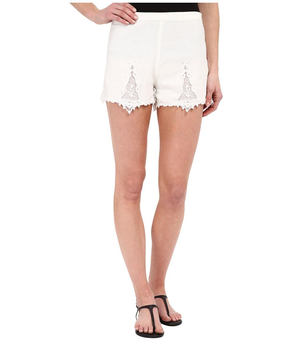 Volcom - Sparks Fly Shorts (White) Women's Shorts