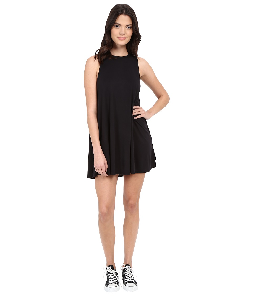 RVCA - Sucker Punch 2 Dress (Black) Women's Dress