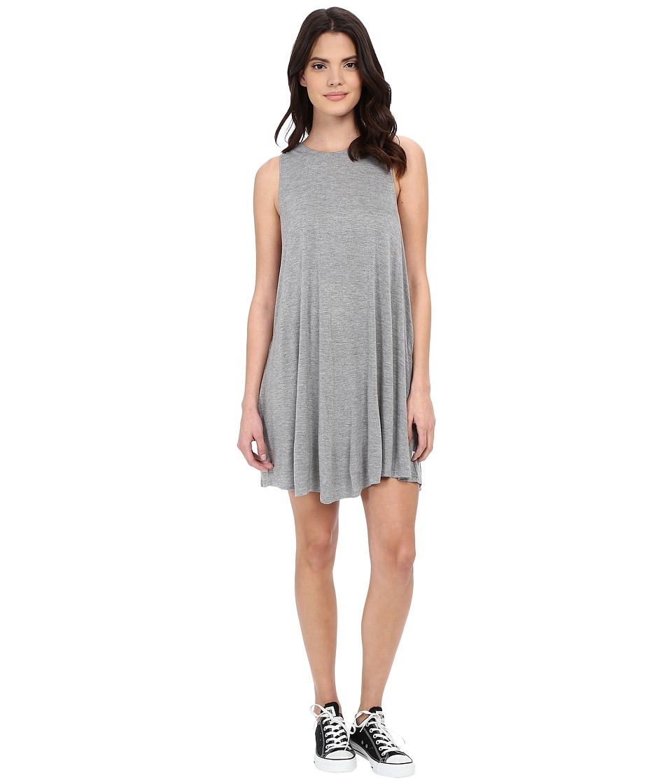 RVCA - Sucker Punch 2 Dress (Heather Grey) Women's Dress