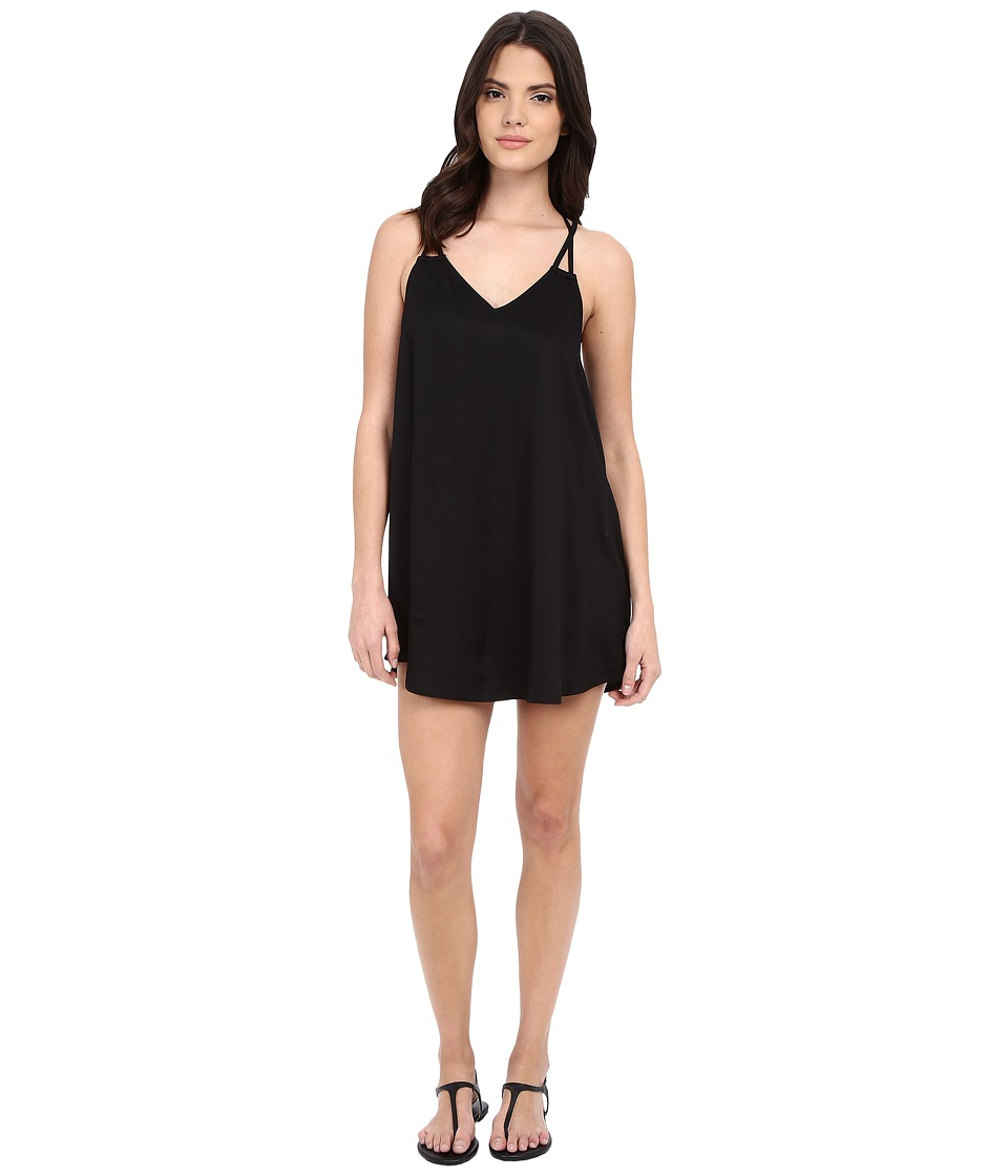 RVCA - Goldie Dress (Black) Women's Dress