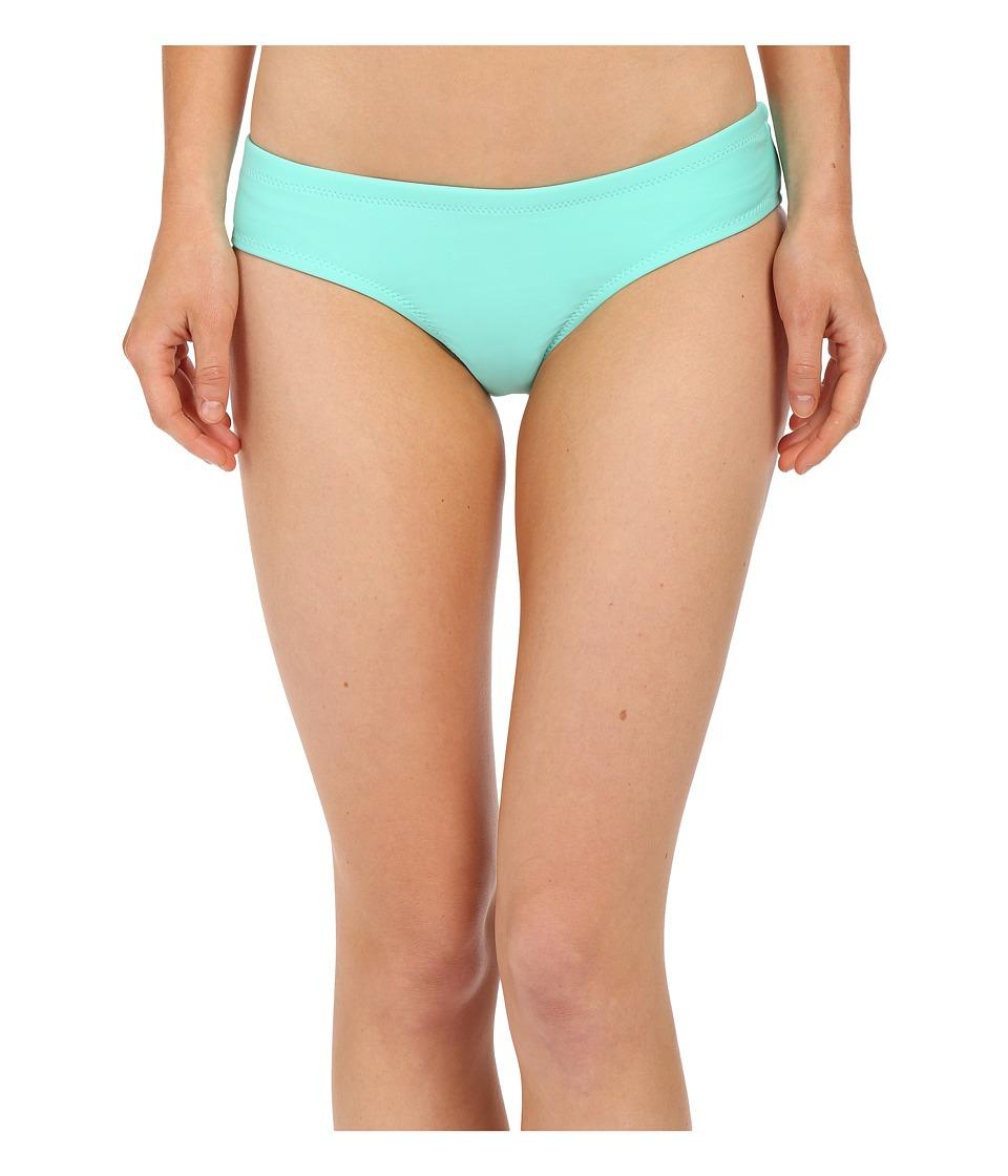 Volcom - Simply Solid Cheeky Bottoms (Seaglass) Women's Swimwear