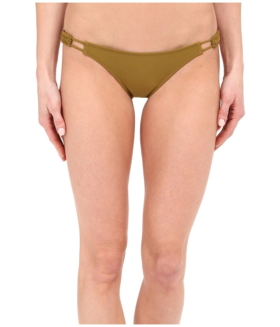 Volcom - Simply Solid Full Bottoms (Army) Women's Swimwear