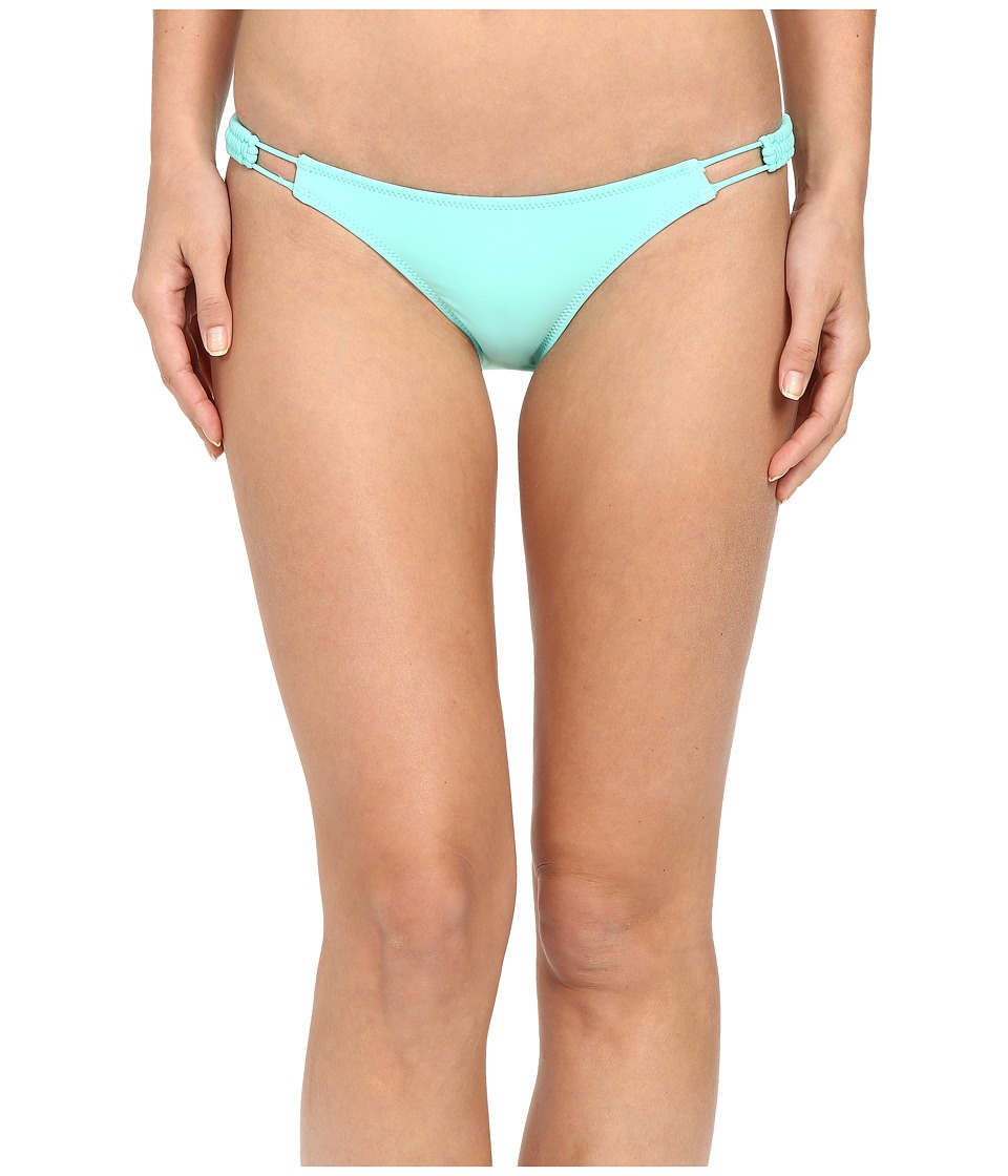 Volcom - Simply Solid Full Bottoms (Seaglass) Women's Swimwear