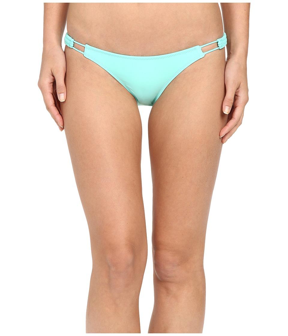 Volcom - Simply Solid Full Bottoms (Seaglass) Women's Swimwear