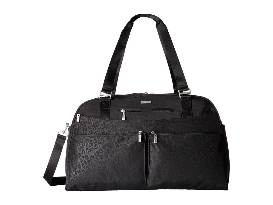 Baggallini - Weekender (Black Cheetah Emboss) Bags
