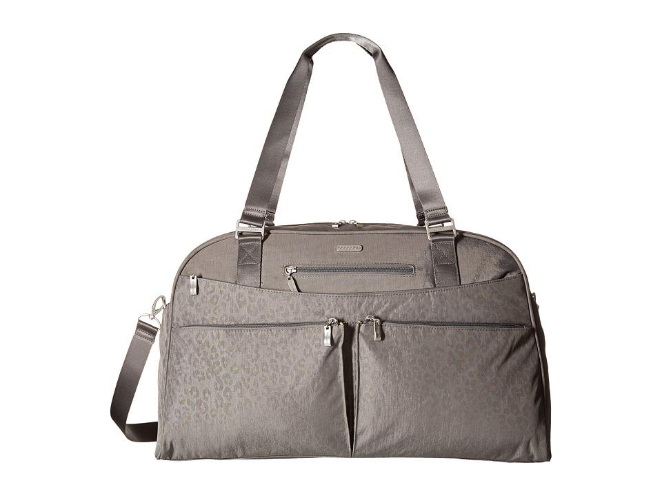 Baggallini - Weekender (Pewter/Cheetah Emboss) Bags